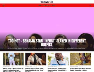 trendope.com screenshot