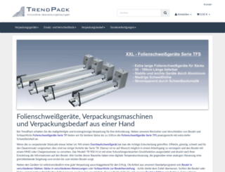 trendpack.de screenshot