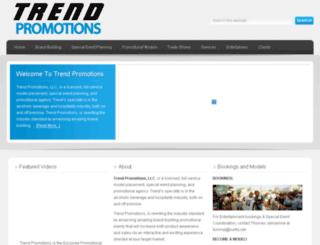 trendpromotions.com screenshot