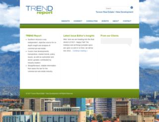 trendreportaz.com screenshot