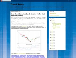 trendrules.blogspot.com screenshot