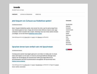 trends-in.de screenshot