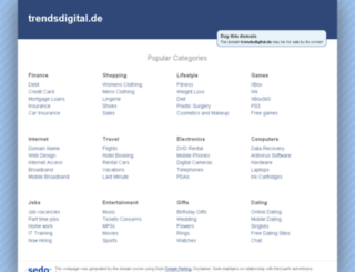 trendsdigital.de screenshot