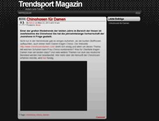 trendsport-magazin.de screenshot
