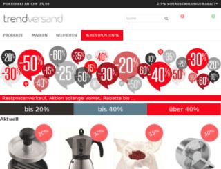 trendversand.ch screenshot
