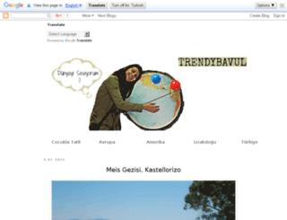 trendybavul.blogspot.com.tr screenshot