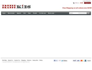 trendybrandykids.com screenshot