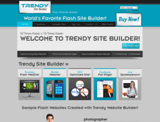 trendyflash.com screenshot