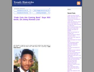 trendyhairstyle.org screenshot