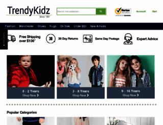 trendykidz.com.au screenshot
