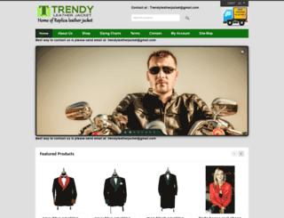 trendyleatherjacket.com screenshot