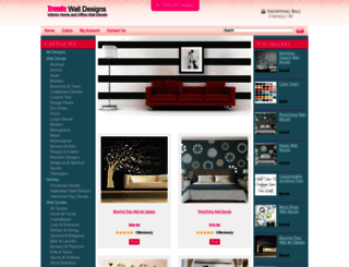 trendywalldesigns.com screenshot