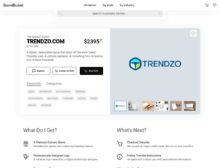 trendzo.com screenshot