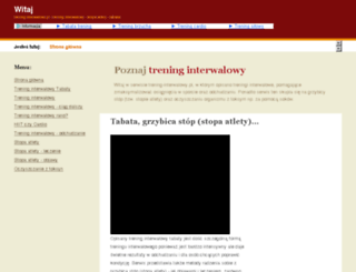 trening-interwalowy.pl screenshot