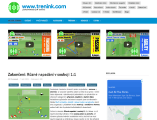trenink.com screenshot