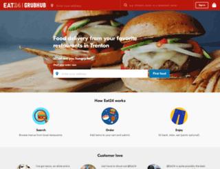 trenton.eat24hours.com screenshot