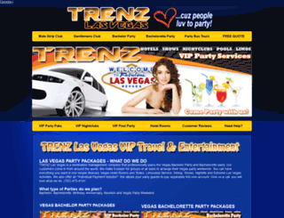trenzlasvegas.com screenshot