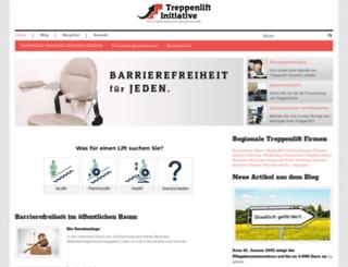 treppenlift-initiative.de screenshot