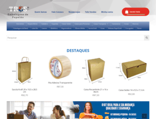 tresembalagens.com.br screenshot