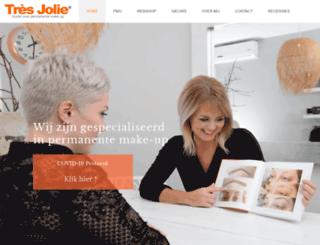 tresjolie.nl screenshot