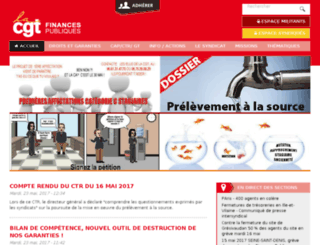 tresor.cgt.fr screenshot