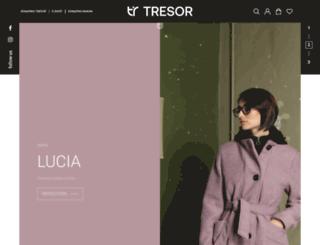 tresorfashion.gr screenshot
