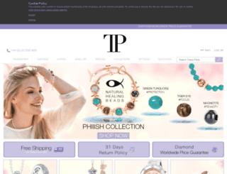 tresorparis.co.uk screenshot
