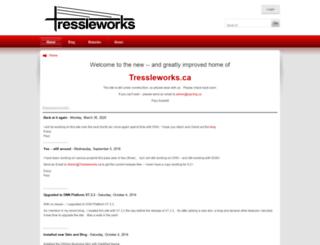 tressleworks.ca screenshot