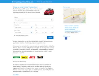 trevisoairportcarhire.net screenshot