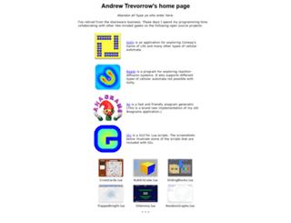 trevorrow.com screenshot