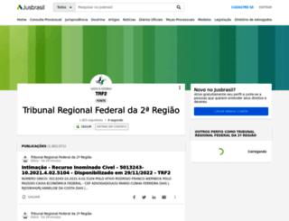 trf-2.jusbrasil.com.br screenshot