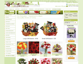 trflowers.com screenshot