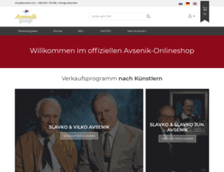 trgovina.avsenik.com screenshot