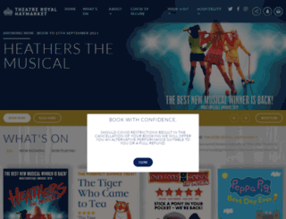 trh.co.uk screenshot