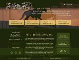 tri-citieshorseproperties.com screenshot