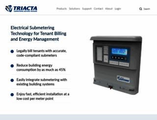 triacta.com screenshot