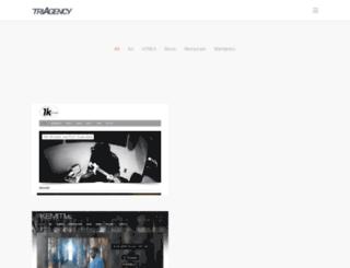 triagency.com screenshot