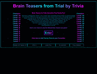 trialbytrivia.co.uk screenshot