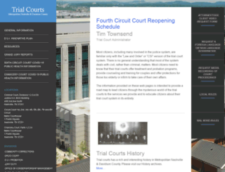 trialcourts.nashville.gov screenshot