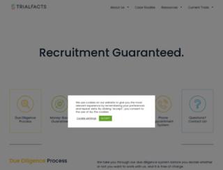 trialfacts.com screenshot
