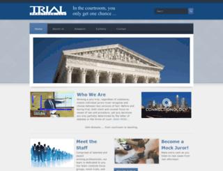 trialpractice.com screenshot