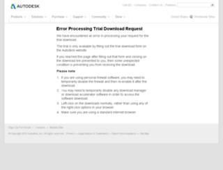 trials.autodesk.com screenshot