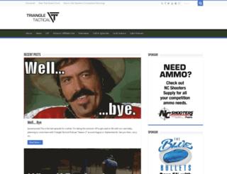 triangletactical.net screenshot