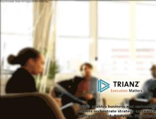 trianzblog.com screenshot