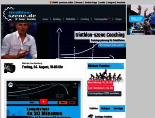 triathlon-szene.de screenshot