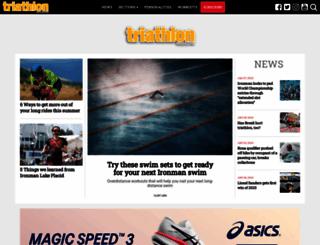 triathlonmagazine.ca screenshot