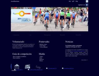 triatlonpontevedra.org screenshot