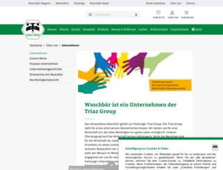 triaz-group.com screenshot