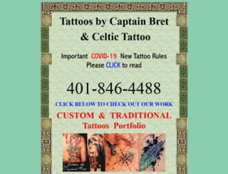 tribal-celtic-tattoo.com screenshot