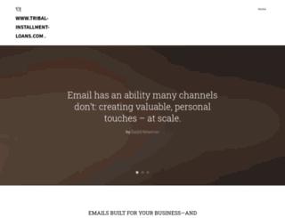 tribal-installment-loans.com screenshot